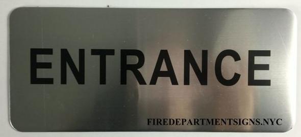 ENTRANCE SIGN for Building