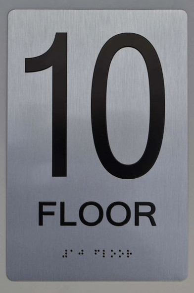 10th FLOOR ADA SIGN