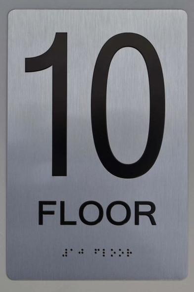 10th FLOOR ADA SIGN