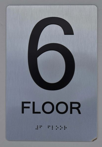 6th FLOOR ADA SIGN