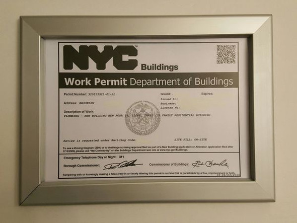 DOB Permit Frame