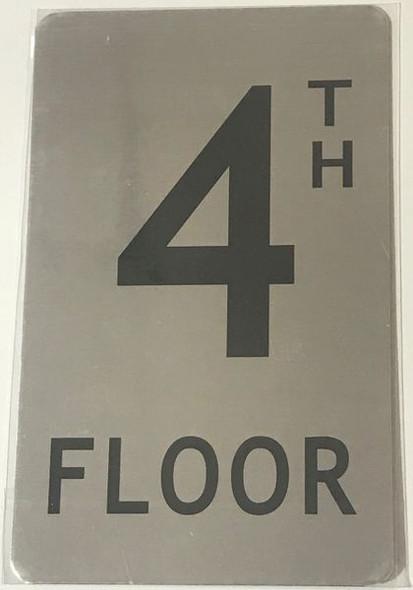 FLOOR NUMBER SIGN for Building