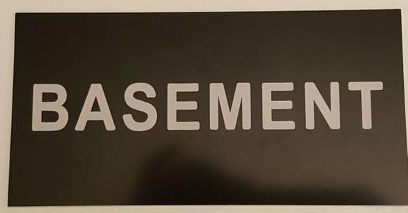 Floor number Basement Sign Engraved Plastic (FLOOR NUMBER Sign