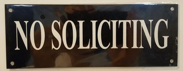 NO SOLICITING SIGN for Building