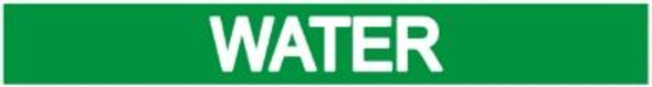 GREEN WATER STICKER Sign
