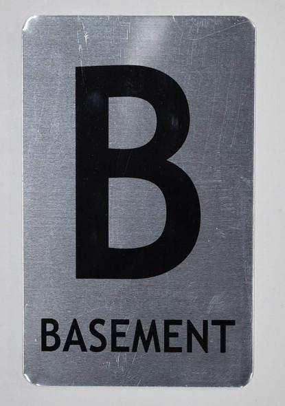 Basement Sign for Building