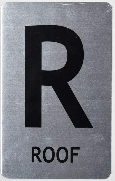 ROOF SIGNAGE (Brush Aluminium,)-The Mont Argent line.