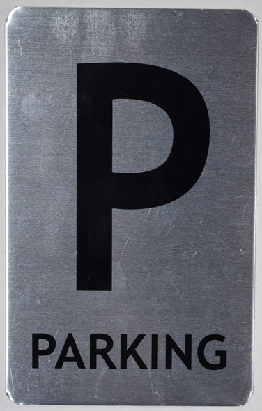 Parking Floor Number Sign