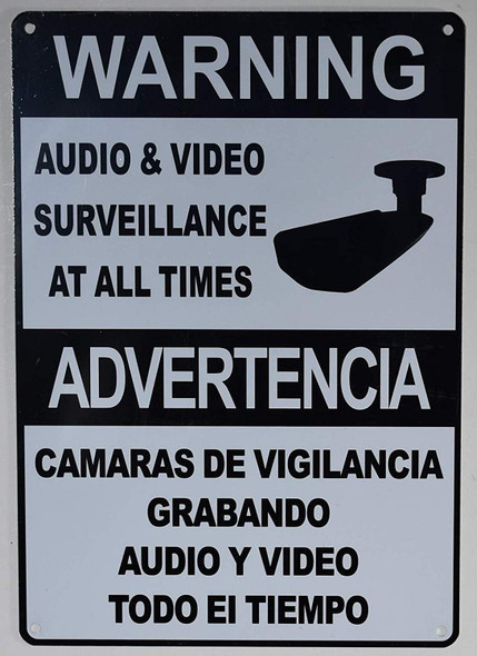 Warning Audio & Video Surveillance