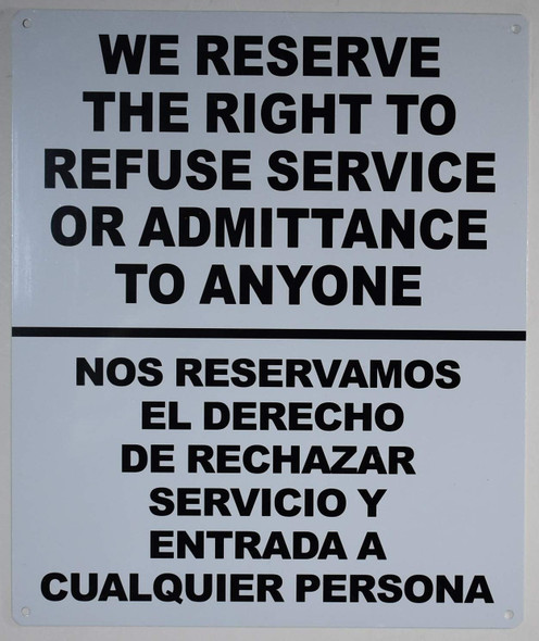 Private Property No Trespassing These Premises are Protected by Video Surveillance 24/7 Sign for Building