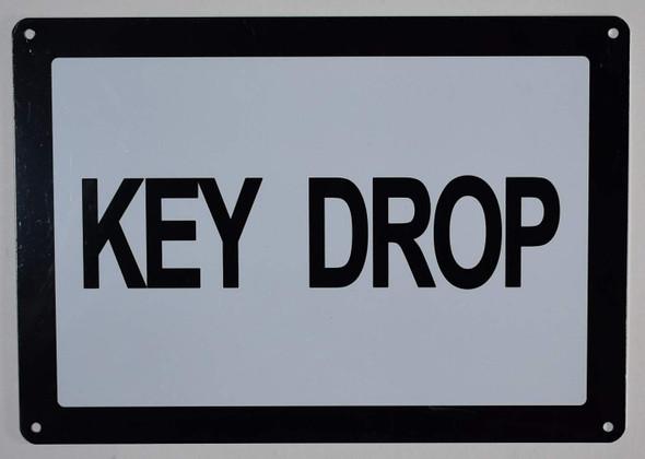 Key Drop Sign