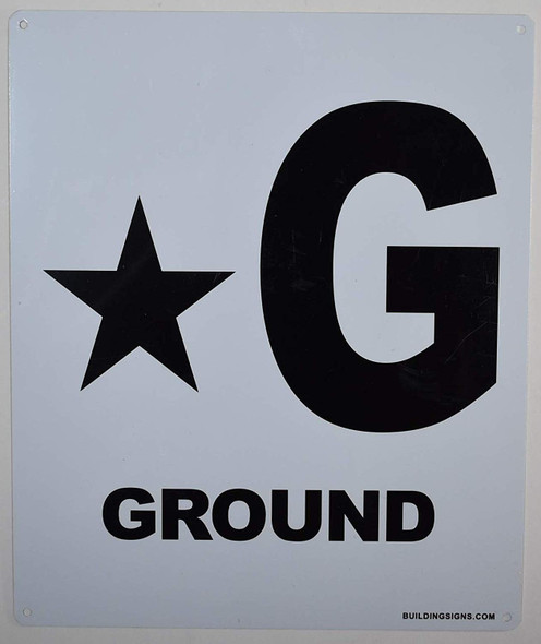 Star Ground Floor Sign-Grand Canyon Line