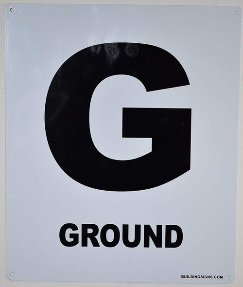 Ground Floor Sign-Grand Canyon Line