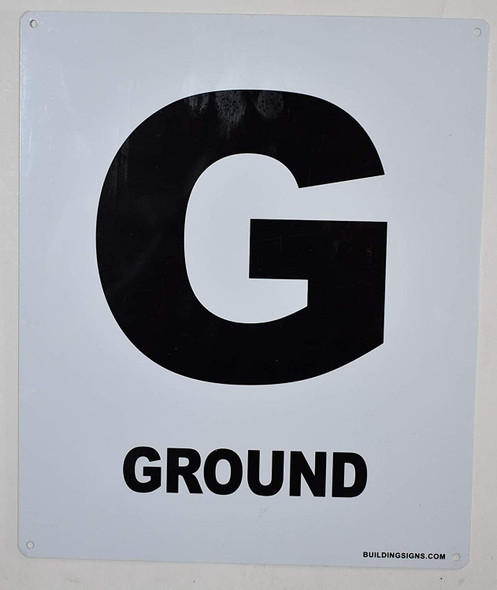 Ground Floor Sign for Buildings