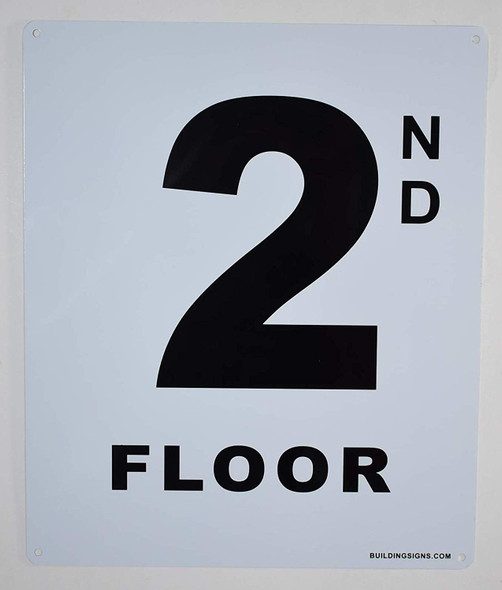 2nd Floor Sign for Buildings
