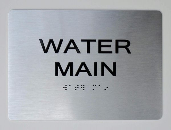 WATER METER dob sign
