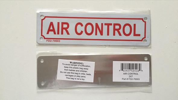 AIR CONTROL Sign