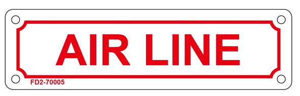AIR LINE Sign