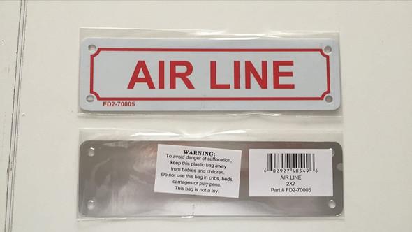 AIR LINE Signage
