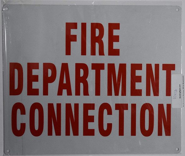 """""""FIRE Department Connection"""" Sign"""