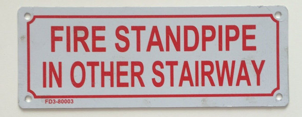 FIRE Standpipe in Other Stairway
