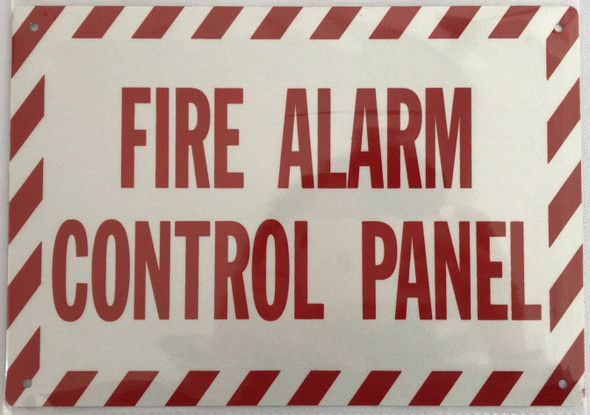 FIRE Alarm Control Panel Signage-