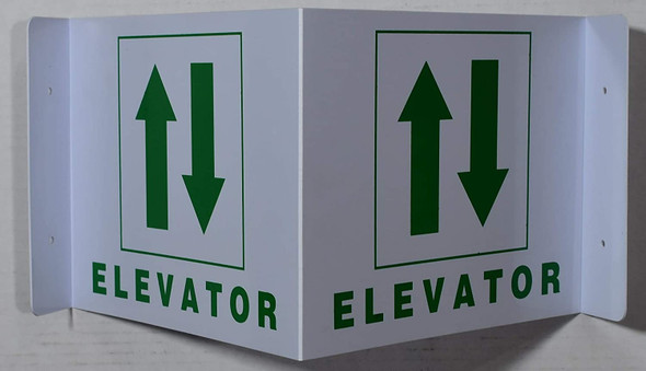 Elevator 3D Projection Sign/Elevator Hallway Sign