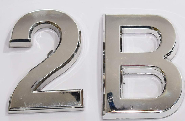 Apartment Number 2B Sign