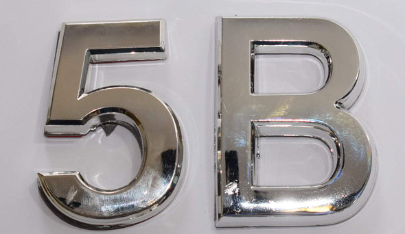 Apartment Number Sign 5B
