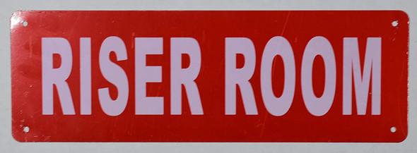 Riser Room Signage