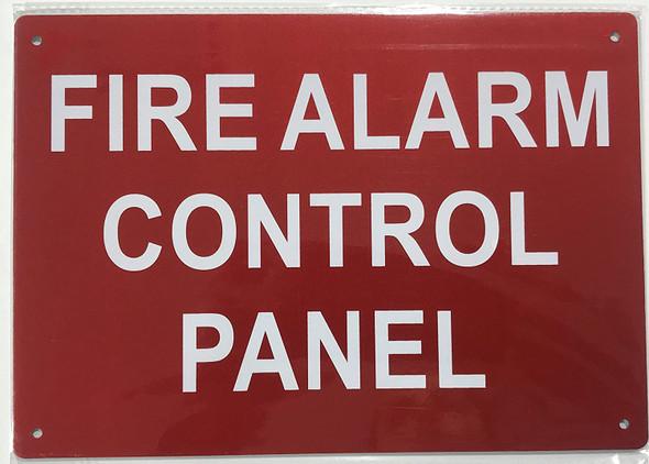 FIRE Alarm Control Panel Signage