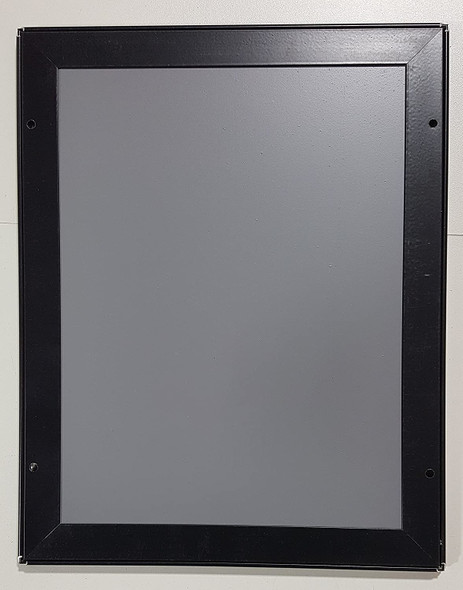 FIRE SAFETY PLAN FRAME - BLACK (STANDARD - ALUMINUM 8.5 x 11 )