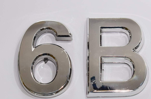 Apartment Number Sign 6B