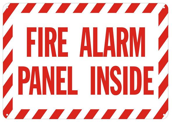 FIRE Alarm Panel Inside Sign