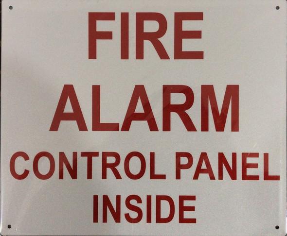 FIRE Alarm Control Panel Inside Signage