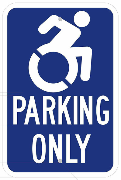 "HANDICAP ""PARKING ONLY"" Sign"