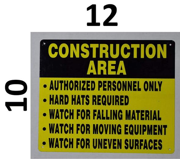 Construction Area Signage