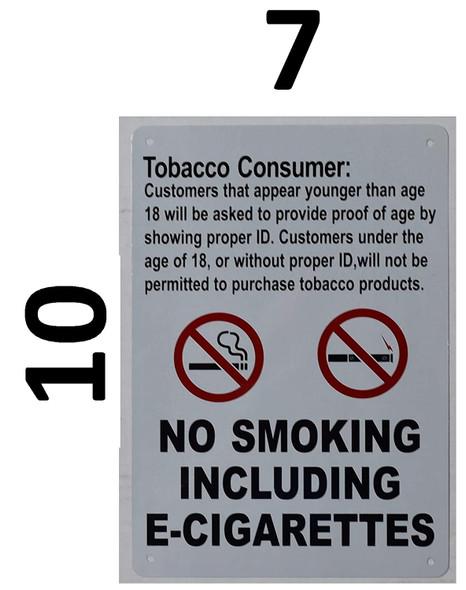 Tobacco Consumer Notice Signage - for Retail