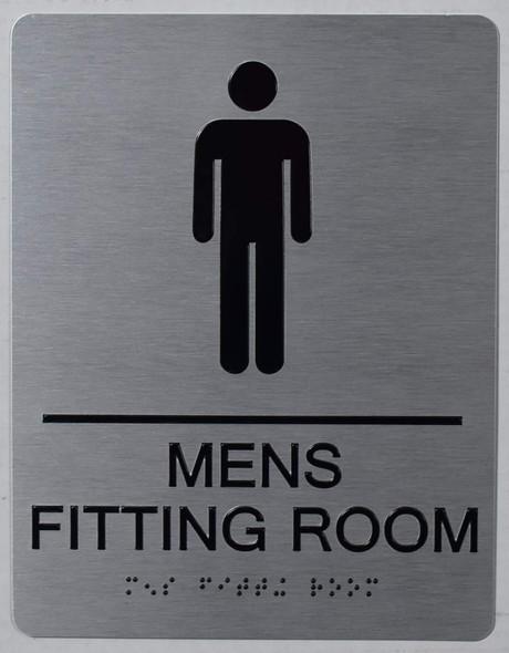 ADA MEN'S FITTING ROOM SIGN