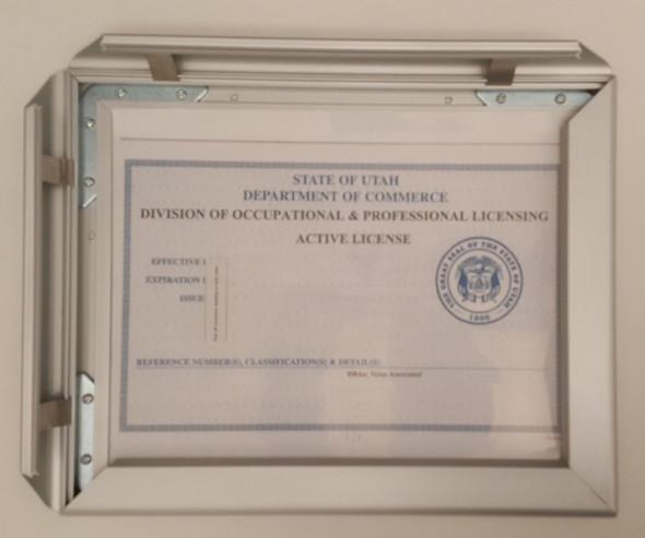 One (1) Frame · Heavy Duty Aluminium frame -Durable frame