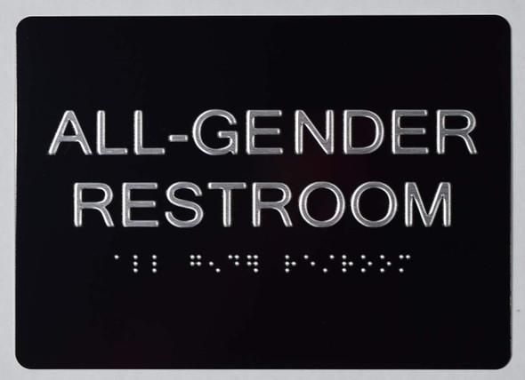 ada ALL GENDER RESTROOM SIGN