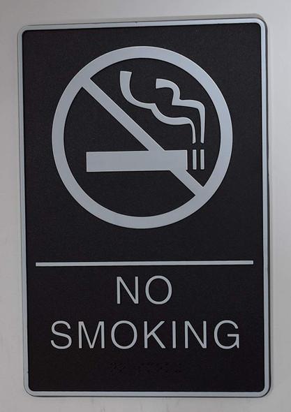 ADA NO SMOKING Sign.