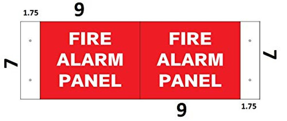 FIRE Alarm Panel SignageD Projection Signage/FIRE Alarm Panel Signage Hallway Signage