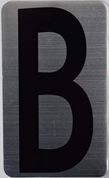 House Number Letter Sign/Apartment Number Letter Sign- Letter B