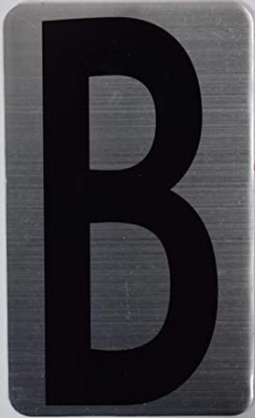 House Number Letter  Letter B