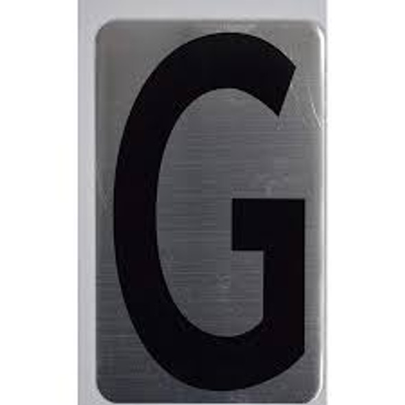 House Number Letter Sign/Apartment Number Letter Sign- Letter G