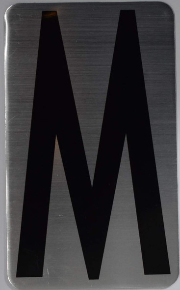 House Number Letter Sign/Apartment Number Letter Sign- Letter M