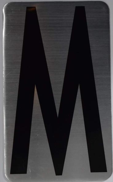 House Number Letter  Letter M