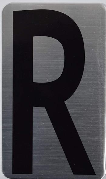 House Number Letter  Letter R