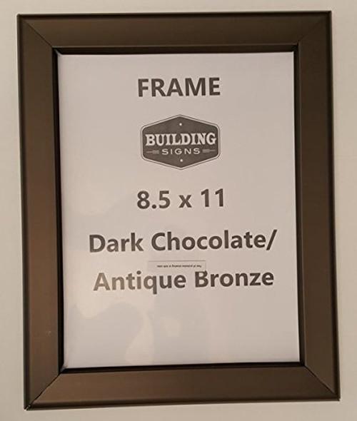 Brown Snap Frame